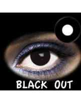 LENTES DE CONTACTO- LENTILLAS FANTASIA BLACK OUT