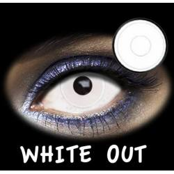LENTES DE CONTACTO- LENTILLAS FANTASIA WHITE OUT