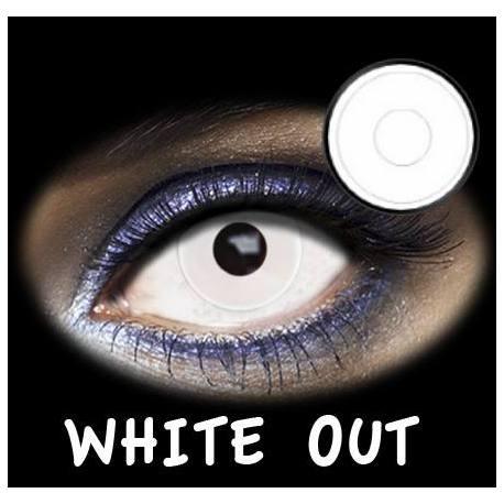 LENTES DE CONTACTO- FASHION LENTILLES WHITE OUT