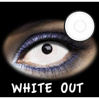 LENTES DE CONTACTO- FASHION LENTILLES WHITE OUT