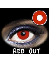 LENTES DE CONTACTO- LENTILLAS FANTASIA RED OUT