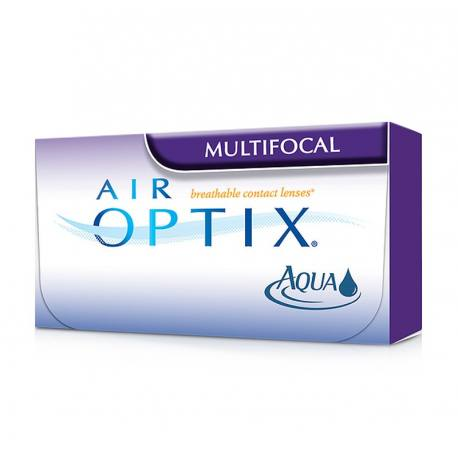 Lentes de contacto AIR OPTIX AQUA MULTIFOCAL