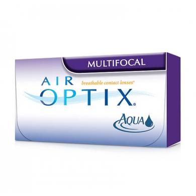 Lentes de contacto AIR OPTIX AQUA MULTIFOCAL