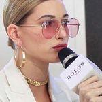 Hailey Bieber, las luce increíble... conoces lo nuevo de Bolon Eyewear? Impacto total para estrenar en Semana Santa