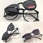 Gafas de vista con Clíp solar con iman, polarizado premium, molan!!